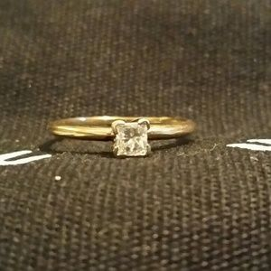 Jewelry - . 3 caret princess cut diamond engagement ring